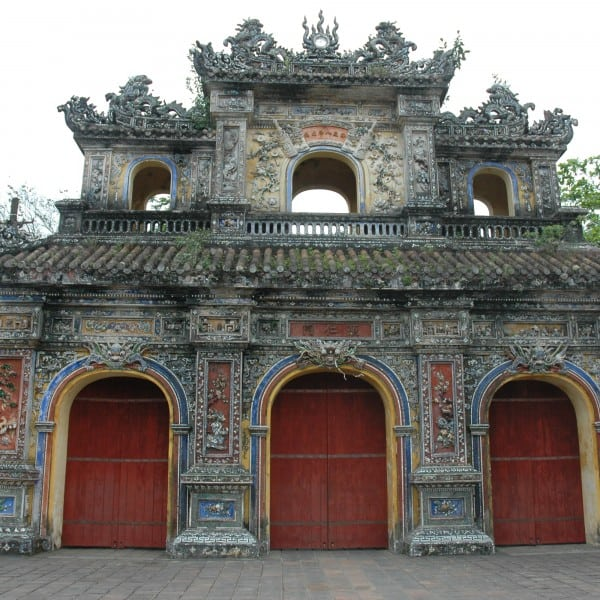 Entrance Imperial City Hue